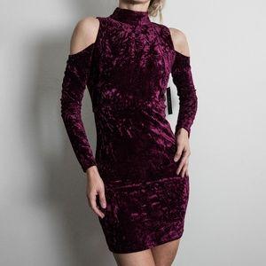 Lulu's Velvet Dress